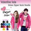 BEST SELLER SUPER DAILY SALE **  Basic Jacket Hoodie UNISEX with Zipper**