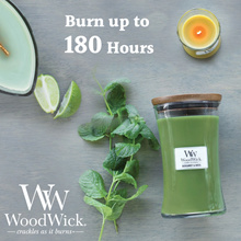 WoodWick Large Jar Candles / Burn up to 180 hours / Soy Wax Décor Candles / Aromatic Candles