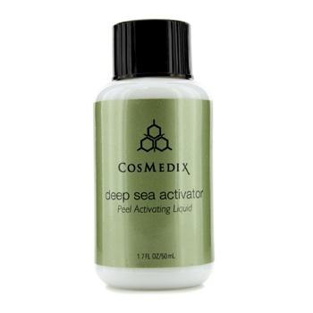 CosMedix Deep Sea Activator (Salon Product) 50ml/1.7oz FEG Eyelash Enhancer Growth Liquid/Serum. 100% Original with Anti-Fake sticker!!! + Eyelashs and eyebrow brush!!!