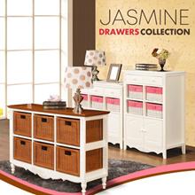 free shipping jawa bali/Jasmine Drawers Collections_8 Drawers / 9 Drawers/praha combi collection