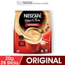 NESCAFE Blend and Brew Original 28 Sticks 19g Each
