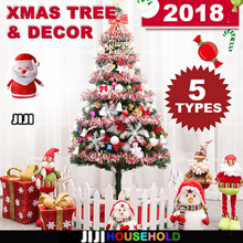 ★ 2018 Christmas Tree ★ DIY Christmas Tree ★ INCLUDE FULL SET OF DECORATIONS ★ Luxury Christmas Tree
