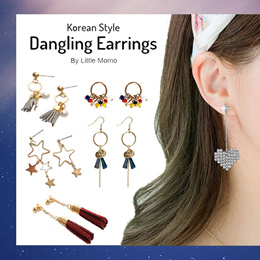 LITTLE MOMO ⭐️ DANGLING EARRINGS ⭐️ TRENDY KOREAN STYLE