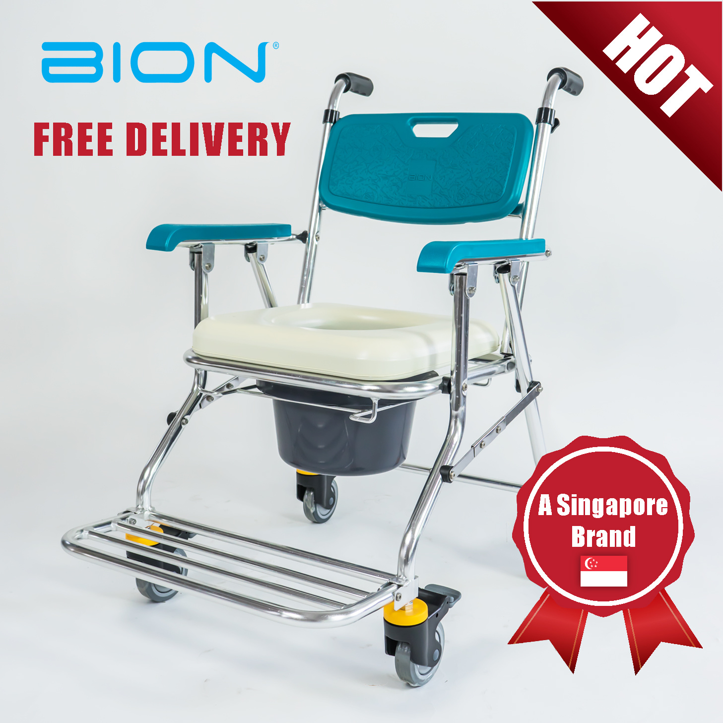 Bionbion Commode Chair 208