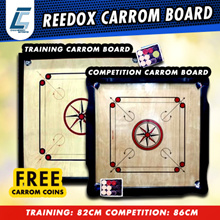 REEDOX TRAINING 82CM/ REEDOX COMPETITION 86CM CARROM BOARD