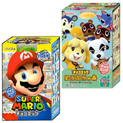 Furuta Super Mario / Animal Forest Modong Forest / Chocolate Egg 1Box 10ea / Free Shipping
