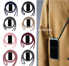 Necklace Crossbody Strap Lanyard Cord Phone Case For Oneplus 9 8t 8 7t 7 pro Clear Back Cover