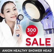 ★SALE★[SKIN CARES] #MADE IN KOREA# Definite effect as you see!#Anion Healthy Shower head/showerhead