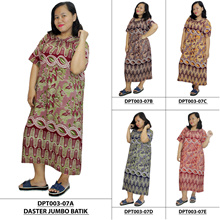 BUY 3 FREE SHIPPING !! Plus Size Batik House Dress Collections 3 - High Quality Batik - Batik Alhadi