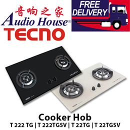TECNO Cooker Hob / Gas Table / Stove / T 222TGSV / T 22TGSV