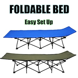Portable Foldable Bed/Safari Bed/Light Weight - Cheapest/ Perfect for Stay-overs / Camping / Fishing