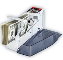 High-quality export V40 mains + battery multinational portable cash registers genuine banknotes mini