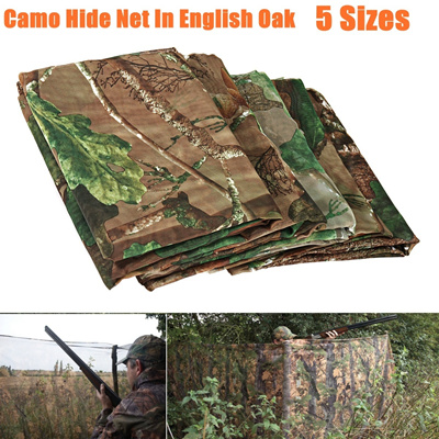 Clear View Pike Camo Net Hide Camouflage Netting Decoy Hunting Shooting  Camping Woodland