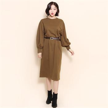 メイキンユ行き来するようにメイキンユ879でブリーワンピース プリントのワンピース/ 韓国ファッション