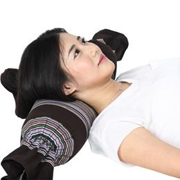 Pillow buckwheat husk pillow buckwheat pillow cervical vertebra care fine care tray