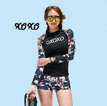 XOXO Rashguard Women Swimming Wear Women Swimwear Women Swimming Suit Women Gift for Ladies