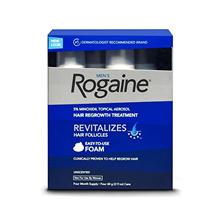 Rogaine Foam Male Hair Removal Hair Scalp 3 Months
