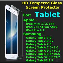 [Fast SG Shipping] Apple iPad mini Pro Air Samsung Galaxy Tab tempered glass screen protector case