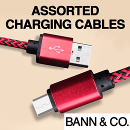 USB Charging/Data Sync Cable for iPhone / iPad / Android - Lightning / Micro-USB / USB Type-C