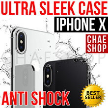 ★NEW★Premium IPhone X Cases★World Best Anti-Shock Case★Premium Tempered Glass★PC/Leather/TPU★