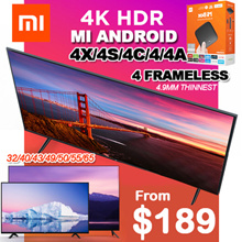 【SG】TOP TV SELLER ❤ Smart XIAOMI Android TV40 43 50 55inch except V4 55inch / LOCAL 1 YEAR WARRANTY