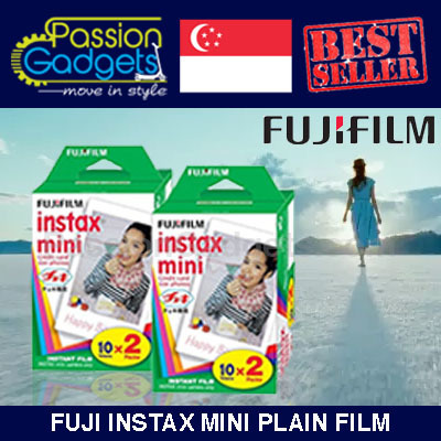[SG Cheapest!]?Instax Mini Plain film? 40 SHEETS Bundle/ Character / Polaroid film 7s 8 25 90 50s Deals for only S$31.96 instead of S$0