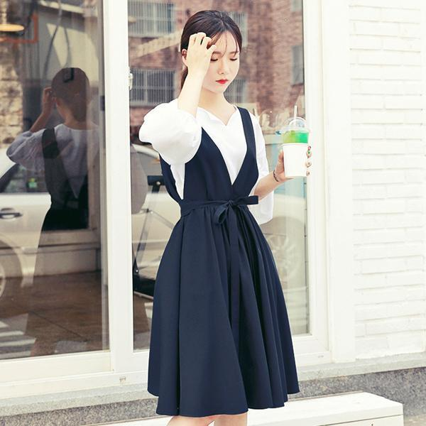 真理子ワンピースnew フレアワンピース/ワンピース/韓国ファッション