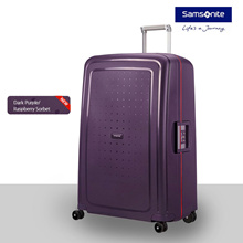 [Free Shipping] 2018 Samsonite Scure Spinner 55/20 Dark Purple/ Raspberry Sorbet