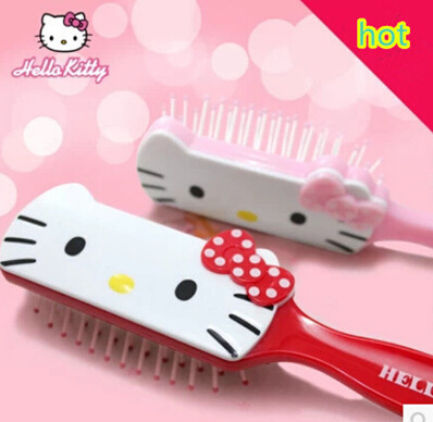 Anti-static comb Hello Kitty cute cartoon makeup airbag massage comb comb comb straight hair volume comb cushion Deals for only RM131.66 instead of RM131.66