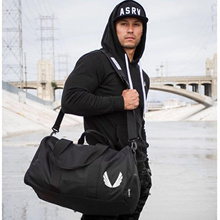 【OneSecond】LVFT Carry-on Duffel Bag Sports Training/Gym Bag with Shoe Bag Running Basket Ball Tennis