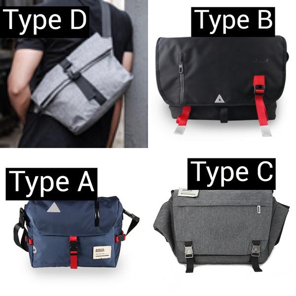 New Mens Messenger Shoulder Bag / Sling Bag / Office Bag / Laptop Bag/ Electric Scooter / Hiking bag Deals for only S$59 instead of S$0