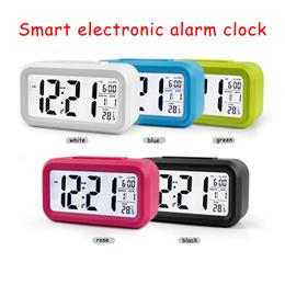 Smart electronic alarm clock / LED desktop light / night light