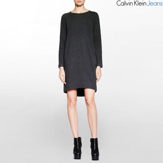 カルバン・クラインのジーンズ女性綿ワンピース4BFDN04 面ワンピース/ 韓国ファッション