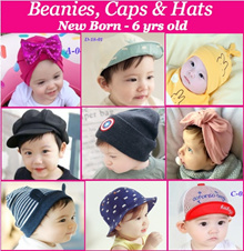 Cap/Beanies/ Hats/ Baby Caps /Kids/ Headband/Infant Hats