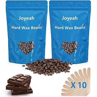 Joyeah Hard Wax Beans, Joyeah 7 Oz Hair Removal Hard Wax Beads with 10 Wax  Spatulas, Painless Waxing