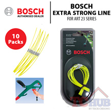 Bosch Extra Strong Line For Art 23 Series The Bosch Trimmer Extra Strong Line 23CM (10 Pack).