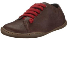(Camper)/Women s/Boots/DIRECT FROM USA/Camper Peu Cami 20848 020 Chocolate Red Womens Leather Lo Trainers Shoes Boots