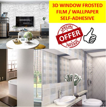 3D Static Removable Privacy Window Film/ solar film Glass Frosted Film /Windows Sticker Tinted Offic