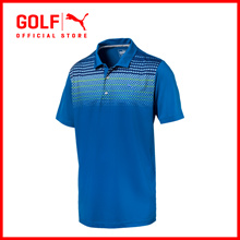 PUMA GOLF Men Sportstyle Road Map Polo - Lapis Blue ★ FREE DELIVERY ★ AUTHENTIC ★ 7 DAY RETURNS