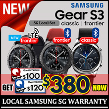 SAMSUNG GEAR S3 CLASSIC / FRONTIER / 1 YEAR SAMSUNG SG WARRANTY / SG SELLER