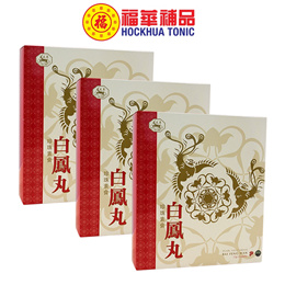 Tian Yang Pearl Vegetarian Bai Feng Wan(3 Packs x 6 Bot x 12g)