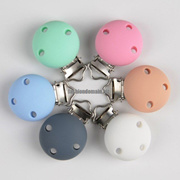 Silicone Nipple Clip Hardware Duckbill Clip Wooden Clip Infant Pacifier