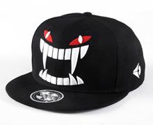KitMax (TM) Fashion Unisex Personalized Big Tooth Vampire Hip Hop Outdoor Sport Baseball Snapback Sun Caps Hats