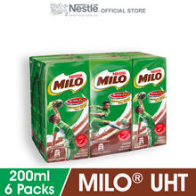 MILO ACTIV-GO RTD 6 Packs 200ml Each