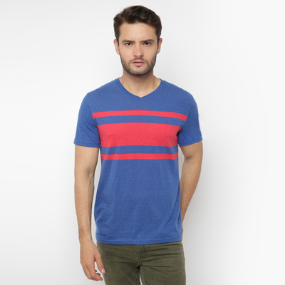 GPMen Chest Stripe BlueRed