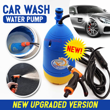 【Local Warranty】★Car Wash Pump★ Portable Powerful Water Spray Water Saving Home Use SG Seller