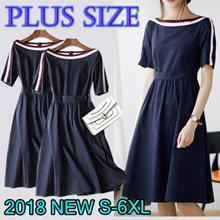 2018 New Summer Korean Ladies Fashion Dress Plus Size Collection /Dress /Blouse/
