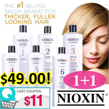 ⭐️ 1+1 FREE SHIPPING! ⭐️ NIOXIN Professional Salon-Exclusive Shampoo/Conditioners 1000ml.