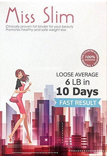 Miss Slim Weight Loss For Women Clinically Proven Fast Fat Binder Weight Loss Pills Manufactured I