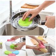 Dish Washing Silicone Sponge Sterilised Long Lasting Durable